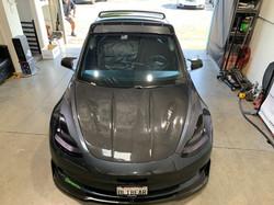 CMST Tuning Carbon Fiber Hood Bonnet Ver.2 for Tesla Model 3