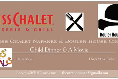 Child Dinner & A Movie