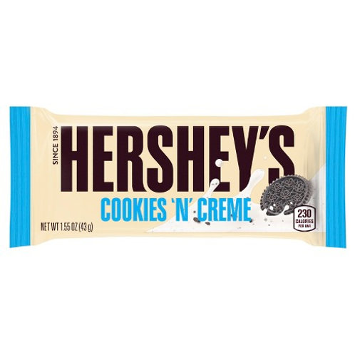 Hershey's Cookies & Cream Candy Bar