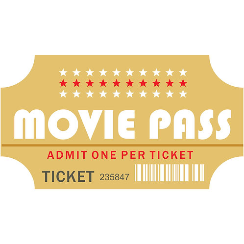 Senior Movie Ticket