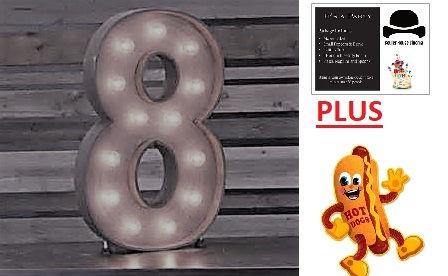 Birthday Party - 8 - Hot Dogs & Invites!