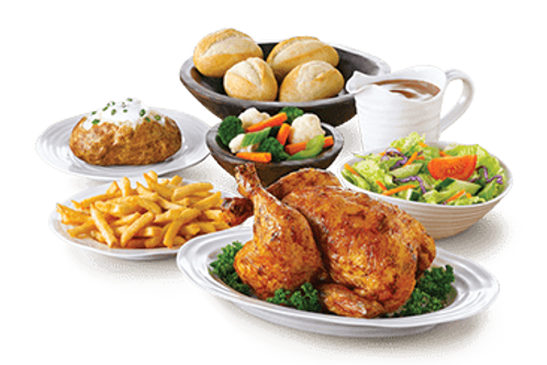 Swiss Chalet Dinner & A Movie - Family Pak
