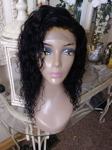 Lace closure wig unit 16in