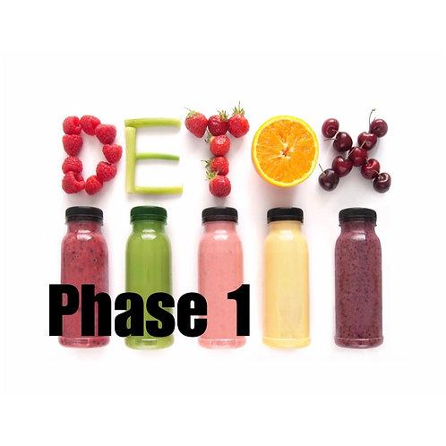 Phase 1 Detox Meal Plan
