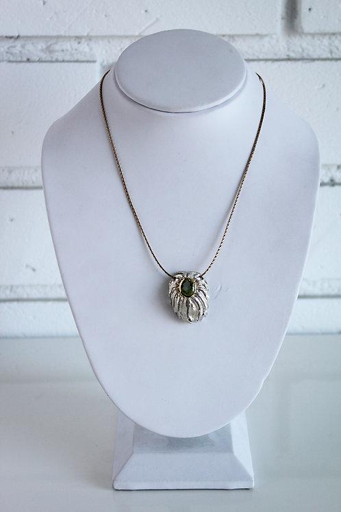 The Chrysanthemum Amethyst Necklace
