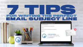 7 Tips for Writing the Perfect Email Subject Line