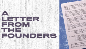 A Letter from the Founders