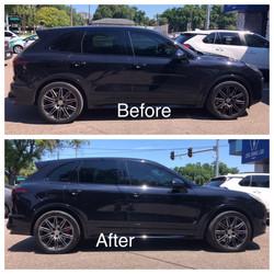 Porsche Before & After