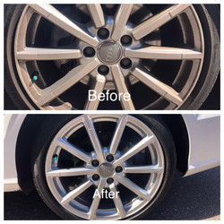 Audi Tires Before and After