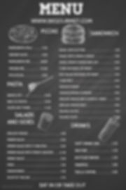 Copy of Chalkboard Menu Template - Made