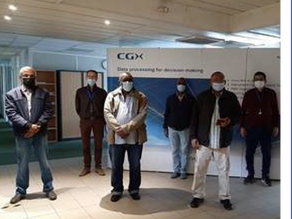 Training session for Soudan Civil Aviation Authority at CGX