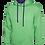 Thumbnail: Contrast Hooded Sweatshirt (Unisex)