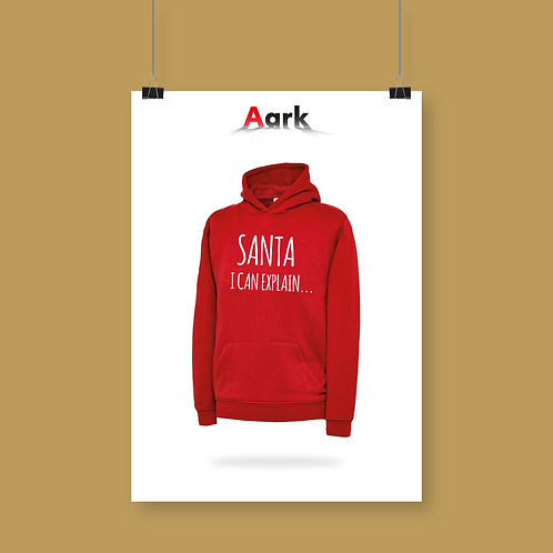 'Santa I can explain' Hoodie