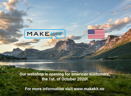 Webshop opening date for the USA!