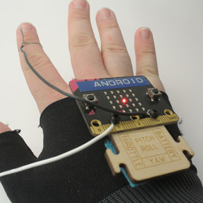 Hands free smart glove!