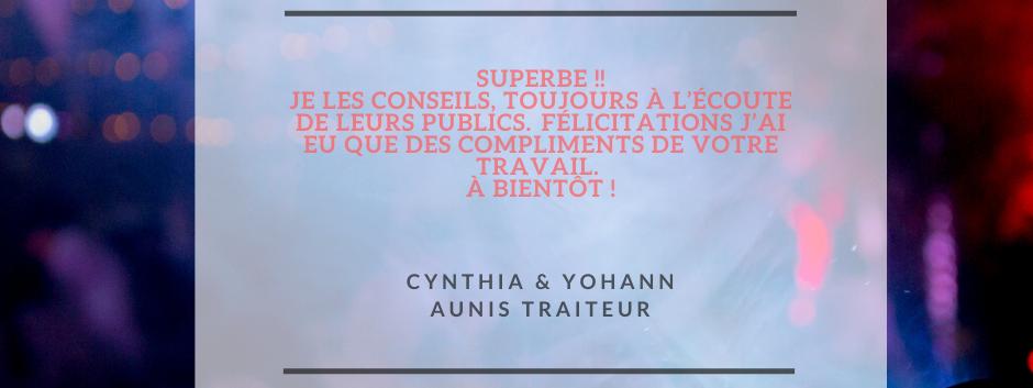 AVIS CYNTHIA & YOHANN - ANTHO'MUSIC ANIM