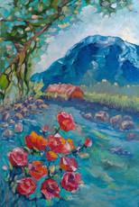 Турція. Троянди у горах, із серії Мандри