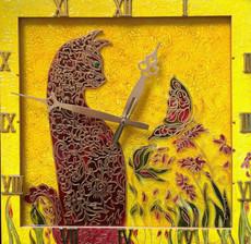 Годинник настінний картина Романтик
