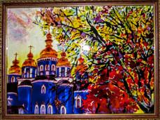 Види Києва.Осінь. Золотоверхий