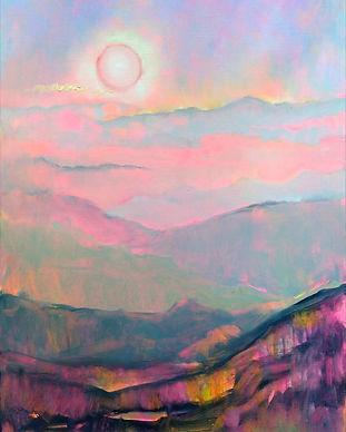 _Сонце гралося з горами. Карпати_, 2021,