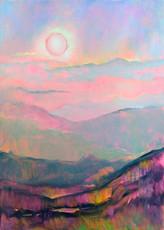 Сонце гралося з горами. Карпати