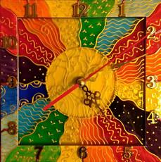 Картина-годинник Я, твоє Сонце