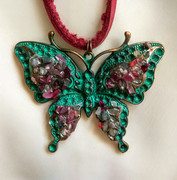Двосторонній кулон Метелик