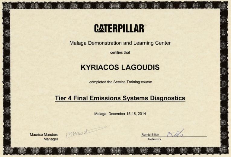 Tier 4 Final Emissions Systems Diagnostics_PIC