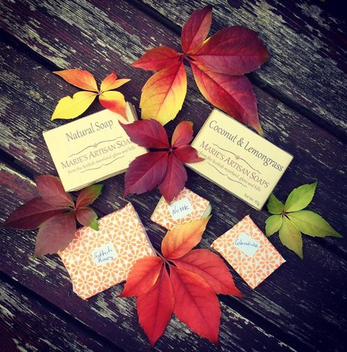 Our Soaps - Photograph by Mica Day