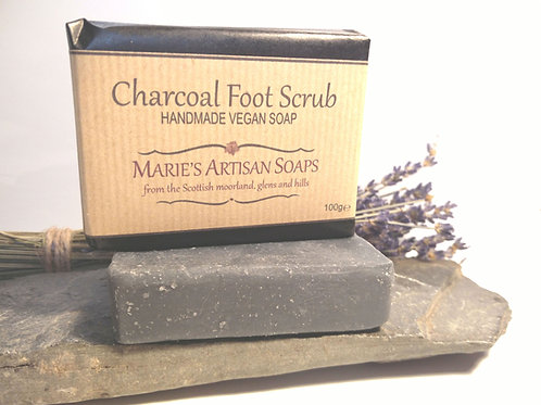 Charcoal Foot Scrub
