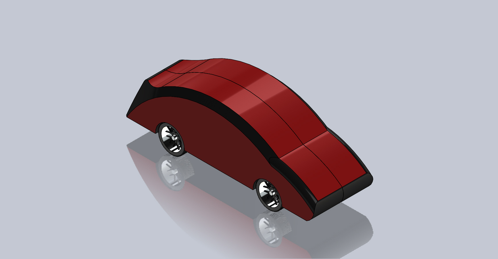 Vehicle CAD Model