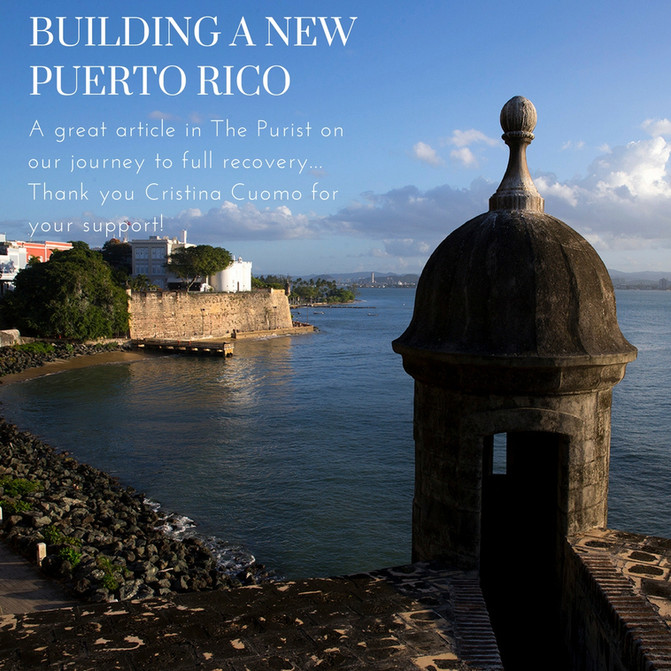 Building A New Puerto Rico
