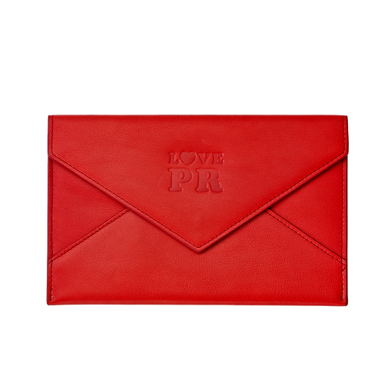 LOVE PR Leather Envelope by Graphic Image (Limited Edition)