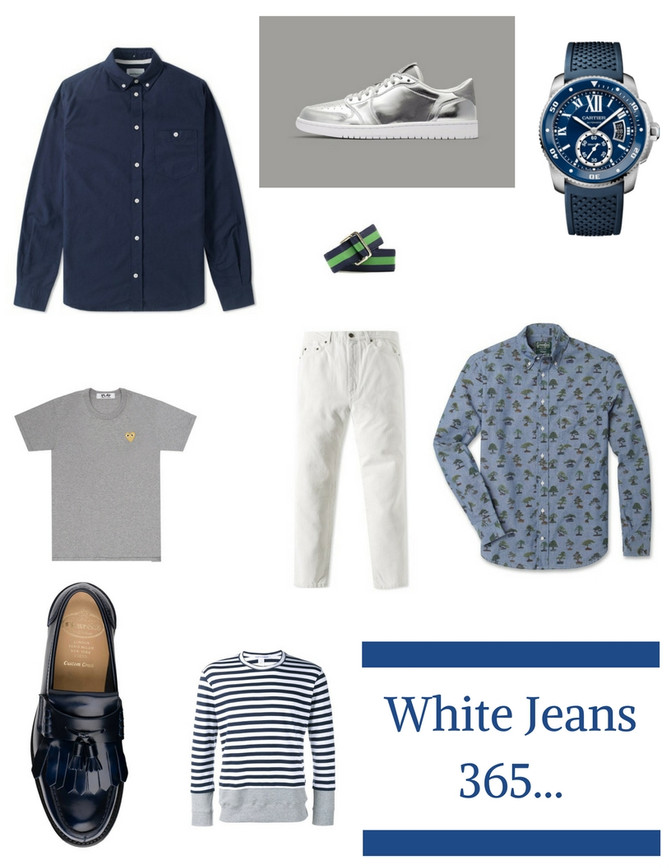 WHITE JEANS 365...
