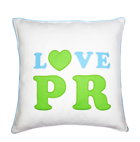 LOVE PR Pillow by Matouk (Limited Edition)
