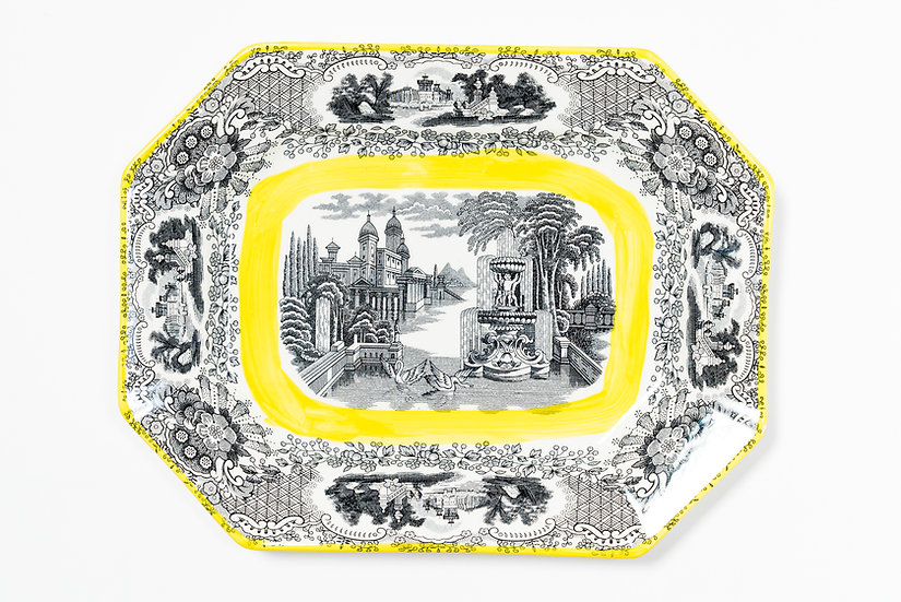 LA CARTUJA DE SEVILLA BY AARON STEWART - Medium Platter