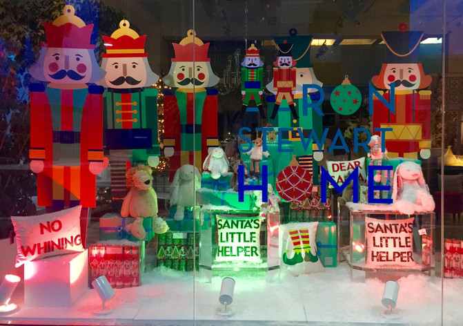 THE STORY BEHIND OUR HOLIDAY WINDOWS