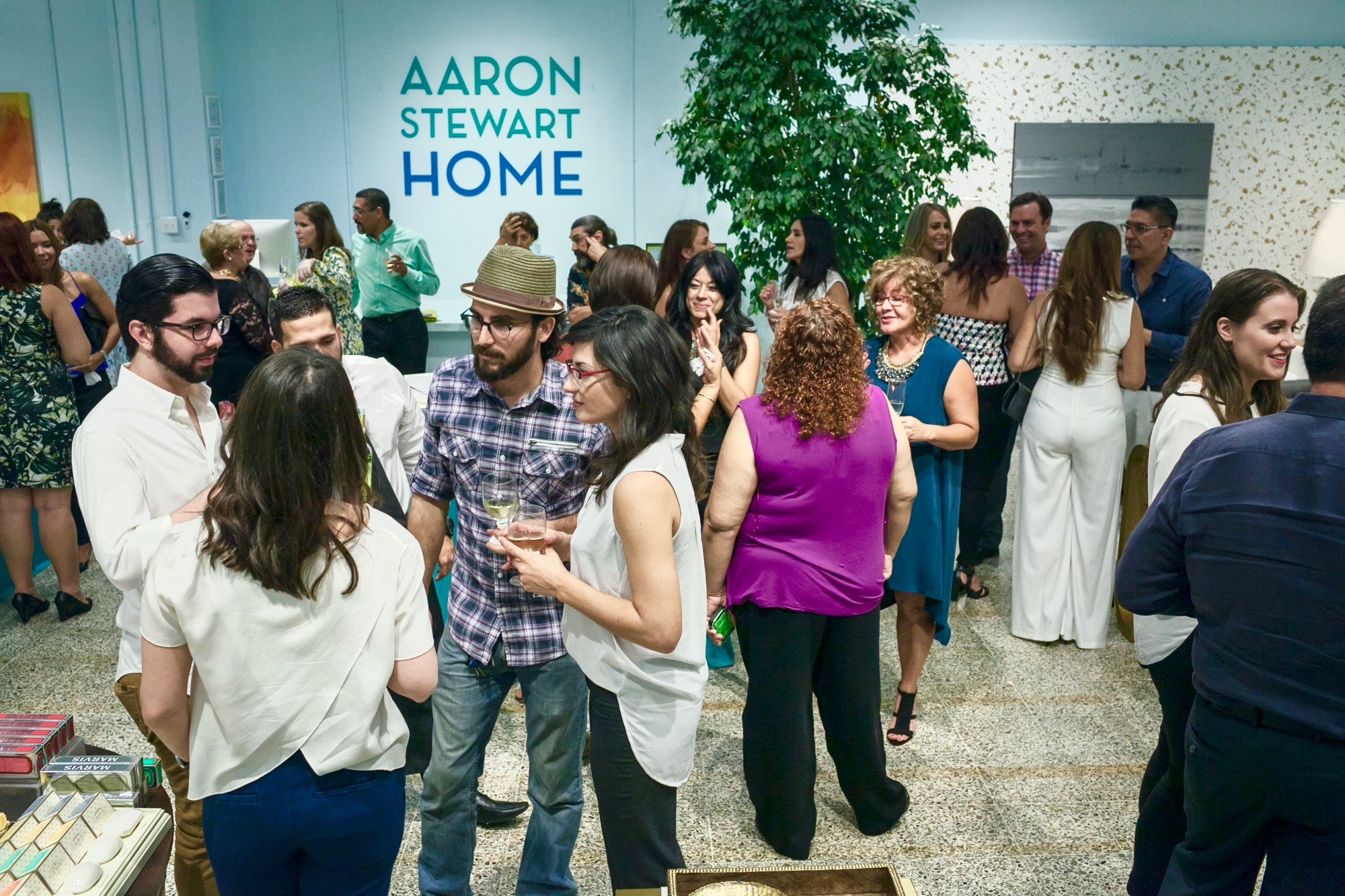 CODDI Event and Aaron Stewart Home