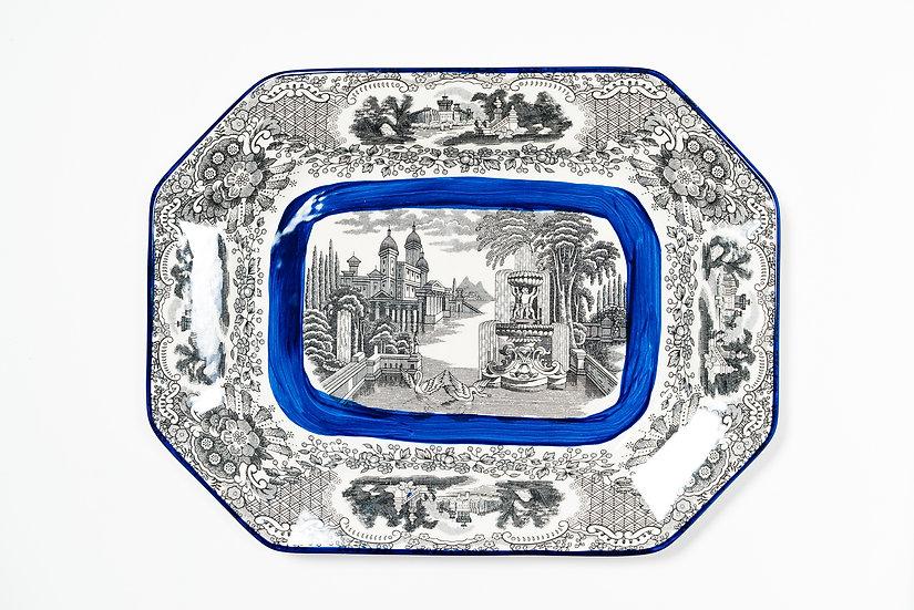 LA CARTUJA DE SEVILLA BY AARON STEWART - Large Platter