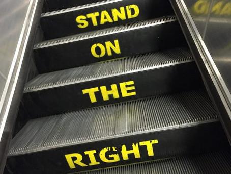 The pitfalls of standing still