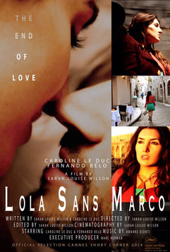 A poster from the movie Lola Sans Marco