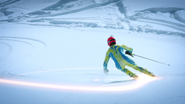 A still from the Kazakhstan Olympic Commercial