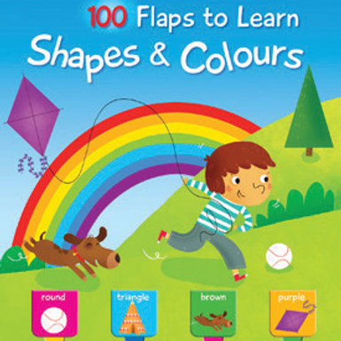 100 Flaps: Shapes & Colours