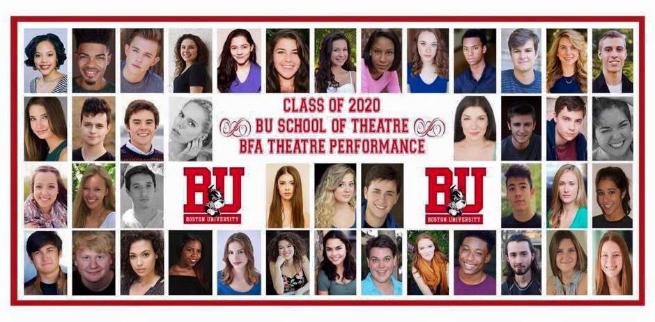 Boston University Theater Performance Class of 2020