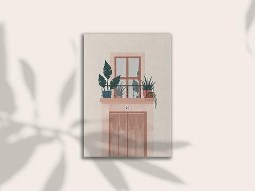 Balcony Print Lugi Design