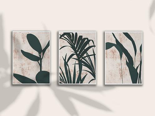 Leaf Print Triple Bundle Lugi Design