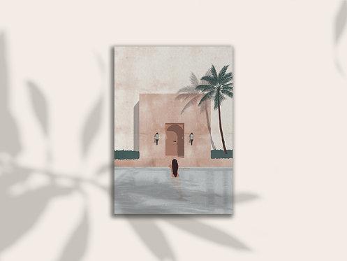 Morocco Print Lugi Design
