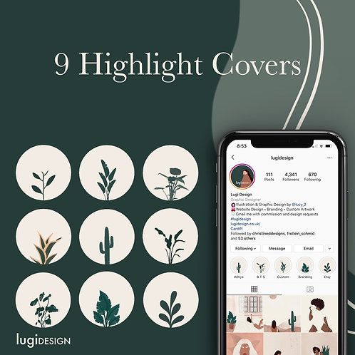 9 Plant Highlight Covers