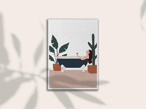 Bath Time Print Lugi Design