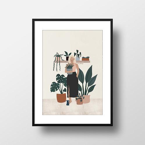 Plant Mum Print Lugi Design